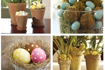 Easter Decorations / by Jessica O'Dell