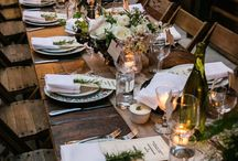 Table settings/ decor