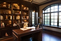 I ... Interiors - Office & Library / by Claudia Black