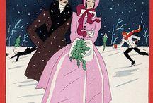 ❄❄❄Зима, Снег,❄❄❄ Иллюстрации