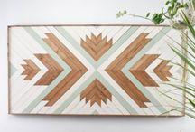 Wood work inspo