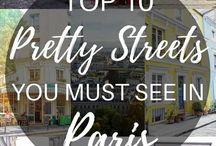 Steder å besøke i Frankrike