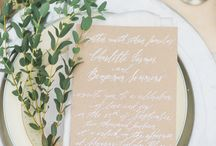 Tablescapes / Classic and romantic ways to seat your guests