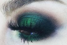 green make-up