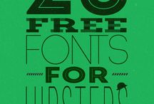 Fonts / by Rebecca Houlihan-Kidder