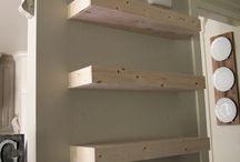 DIY / Floating shelves