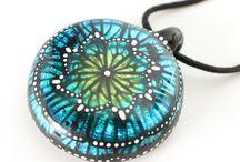 MZ Glass Butterfly Pinwheel/ Mandala series