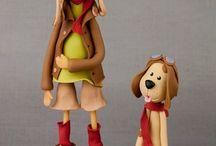 Bolos Dec. - Bonecos e Animais