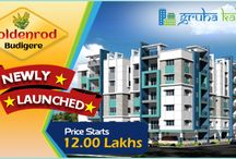 Flats for Sale in Budigere / Apartments for Sale in Budigere, Bangalore. Gruha Kalyan Builders Offers Low Budget 2BHK/3BHK Apartments in Budigere With more facilities.