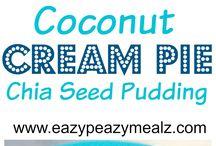 Chia Puddings / Chia Seed Pudding Recipes