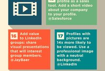 Social Media / LinkedIn, Twitter