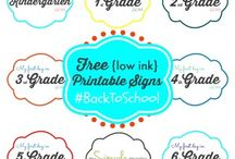 {free printables} / Free files to print from The Simple Moms.