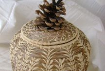 Pine Needle Baskets / by Lisa Mason