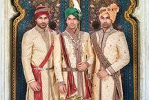 Groom Wear / The 21st century Dulha has the spark of a star. Adorn these creations & grab the spotlight.