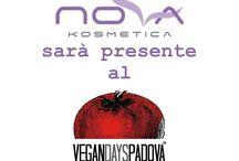 Vegan Days Ottobre 2016 / Novakosmetica sarà presente al VeganDays 2016 a Padova, sieti invitati tutti a scoprire i prodotti Vegani di Novakosmetica