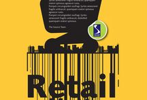 Retail Matters / Designs of posters for a Retail Matters Event