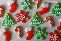 Christmas Sweets / Christmas Cakes, Cupcakes, Cookies, Cake Pops & More! / by RoseBakes.com