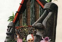 Tiki Culture / Vintage tiki bars, paintings, art, girls and anything tikitastic.