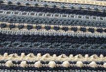 Crochet stitch sampling