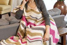 Crochet blankets - free patterns