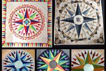 Quilts (in wording) cursisten / Quilts van cursisten die workshops bij mij volgden.
