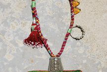 Talisman bags / Small decorative pouches of fabric or leather for keeping a talisman or amulets