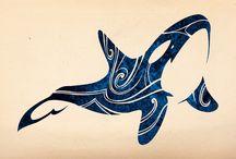 Orca tattoos