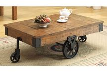 Railroad Cart Industrial Coffee Tables