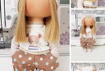 Образцы узоров для кукол