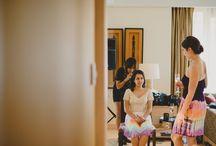 Cross Cultural Wedding - India + Western