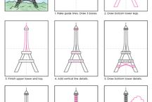 Gâteau Tour Eiffel