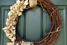 Front Door Decor / by Patricia Hurst