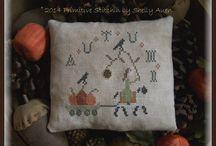 Fall/Autumn Cross Stitch