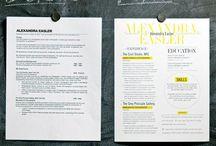 Resume's / by Kim Perez Olivito