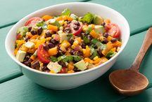 Delicious healthy meals