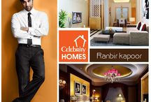 Celebrity Homes / Citing the homes Décor and Interior of the celebrities.