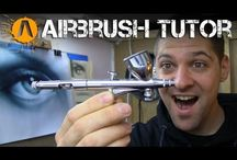 Air brush art
