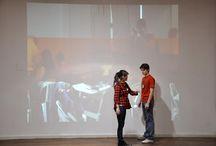 """Tecnología Multimedia Interactiva para la Escena. Software Isador / El fin de semana del 13 y 14 de junio el equipo del InTad (Investigación en Tecnología Aplicada a la Danza) dictó el taller de """"Tecnología Multimedia Interactiva para la Escena. Software Isadora"""".  Un compacto de imágenes de las intensas jornadas desarrolladas en el SUM de los museos de arte.  (La actividad y las fotos fueron posibles gracias a Araceli Márquez y Diego Enrique)"""