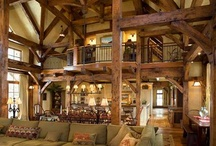My Dream House / My Dream House, a very large Mountain Cabin home.... If I could decorate it myself...