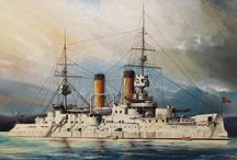 warship paintings / warship paintings