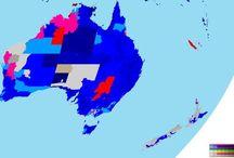 Maps of Australia / Australasia