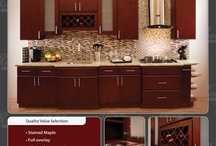 Kitchen Cabinetry  / All wood and framless Kitchen Cabinetry!