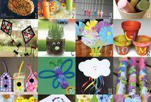 SPRING activities & games for kids / children