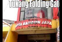 JASA SERVIS FOLDING GATE PANGGILAN - 081280350050
