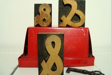 Letters & Ampersands / ampersands, letters, numbers, punctuation ... examples that make me smile / by ThreeOldKeys Laurie C