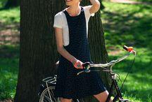 Celebrities on Bicycles