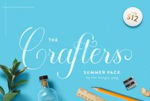 The Crafters Summer Pack / This month we have partended up with KW Designs to offer you 20 fantastic collections at a fraction of the normal retail price.