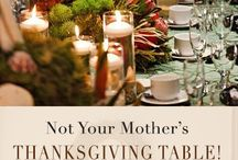 wThanksgiving Table
