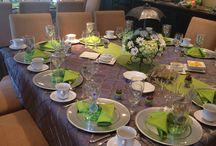 Terítés, asztal díszítés