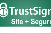 Para manter seu site mais seguro / Conheça as soluções de segurança da TrustSign e leve maior segurança e confiabilidade para seus negócios na internet.